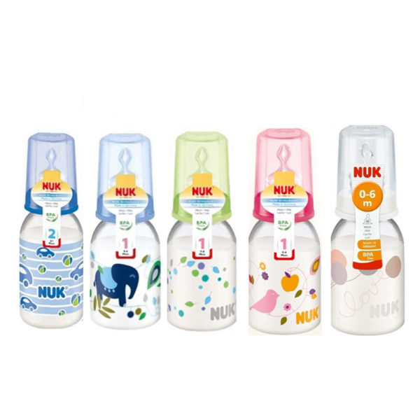 [NEW] Nuk Silicone Classic 110ml 0-6m Single Pack Bottle