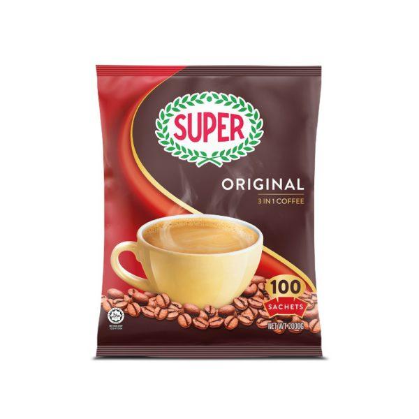 Super Coffee Regular 3 in 1 - 100's