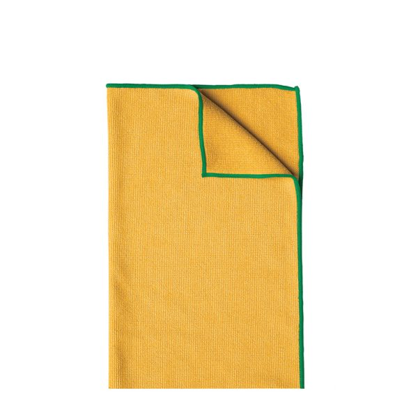 WypAll® Microfibre Cloths 83610 - Yellow, (1 carry pack x 6 cloths)