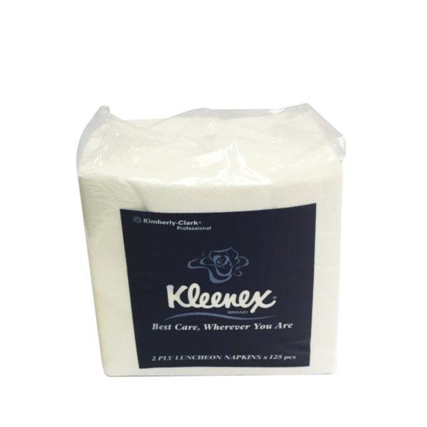 Kleenex® Luncheon Napkin 78411 - White, (1 pack x 125 sheets) & 2 ply